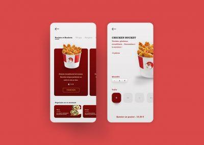 App Fast Food - Chicken Bucket