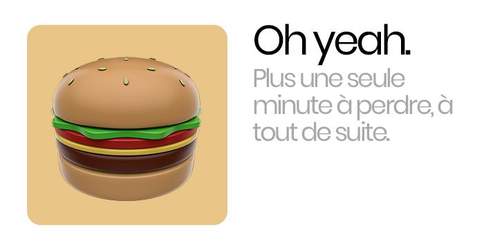 Burger annonce