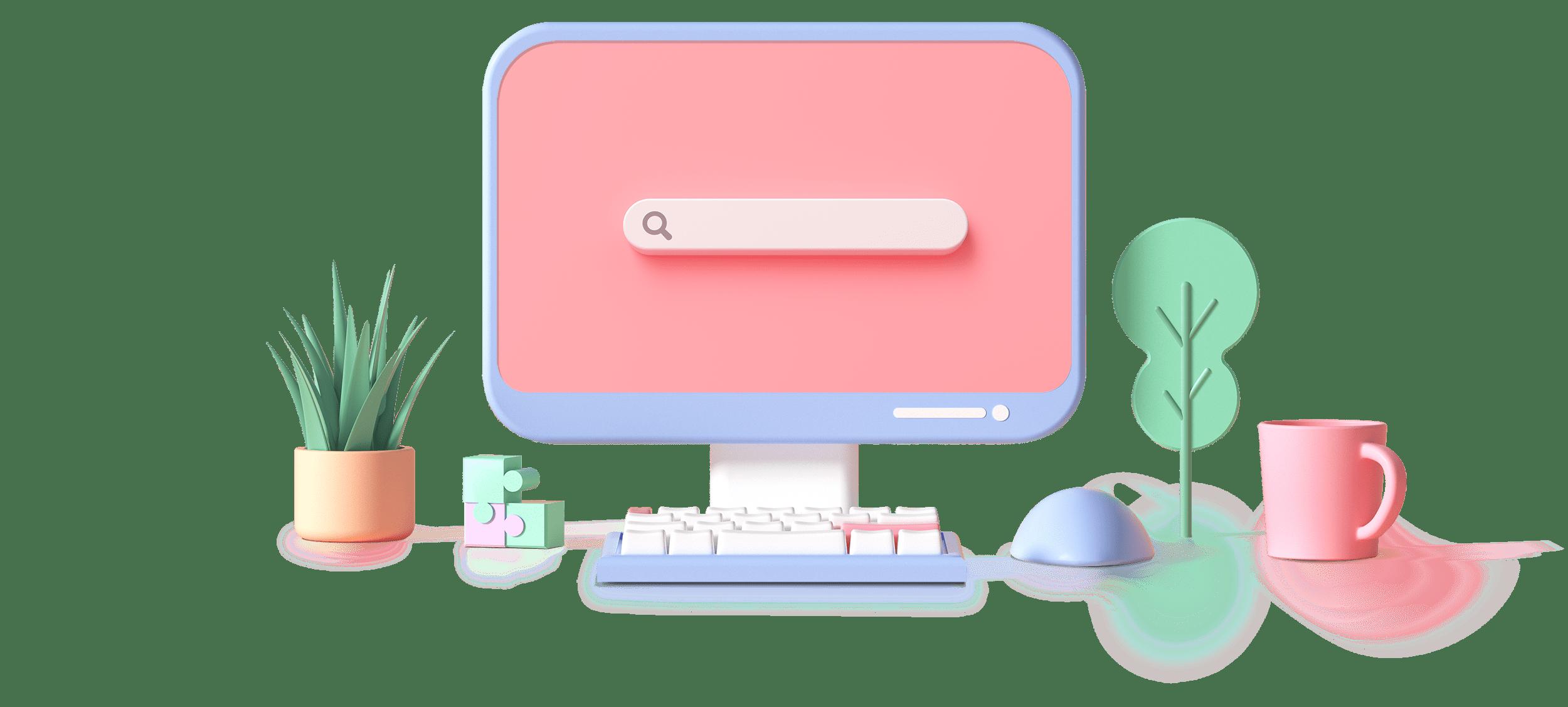 Cyremia - Illustration ordinateur UX